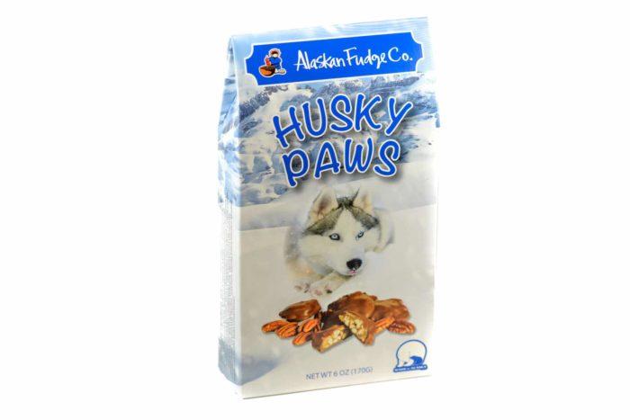 husky paw box